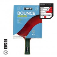 РАКЕТКА STIGA BOUNCE ADVANCE WRB, ACS, БАЛЬСА-2 СЛОЯ, 7-