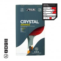 РАКЕТКА STIGA CRYSTAL ADVANCE WRB, CRYSTAL TECH, ACS, BA
